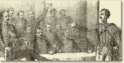 Széchenyi felajánlása a pozsonyi országgyűlésen