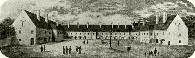 A debreceni kollégium az 1802- i tűzvész után