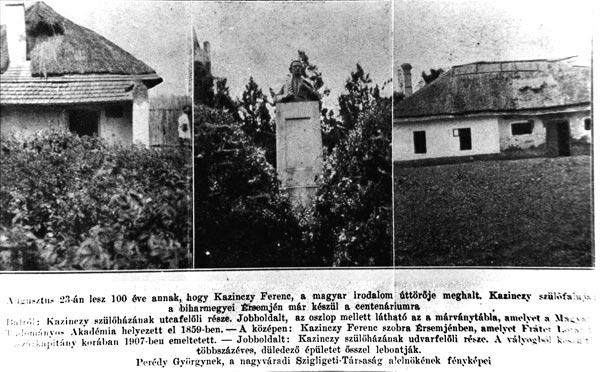 A szülőház 1931. évi felvételeken