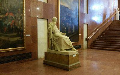 Budapest, I. Szent György tér 2., Budavári Palota, Magyar Nemzeti Galéria (Ferenczy István, 1845, fehér márvány)