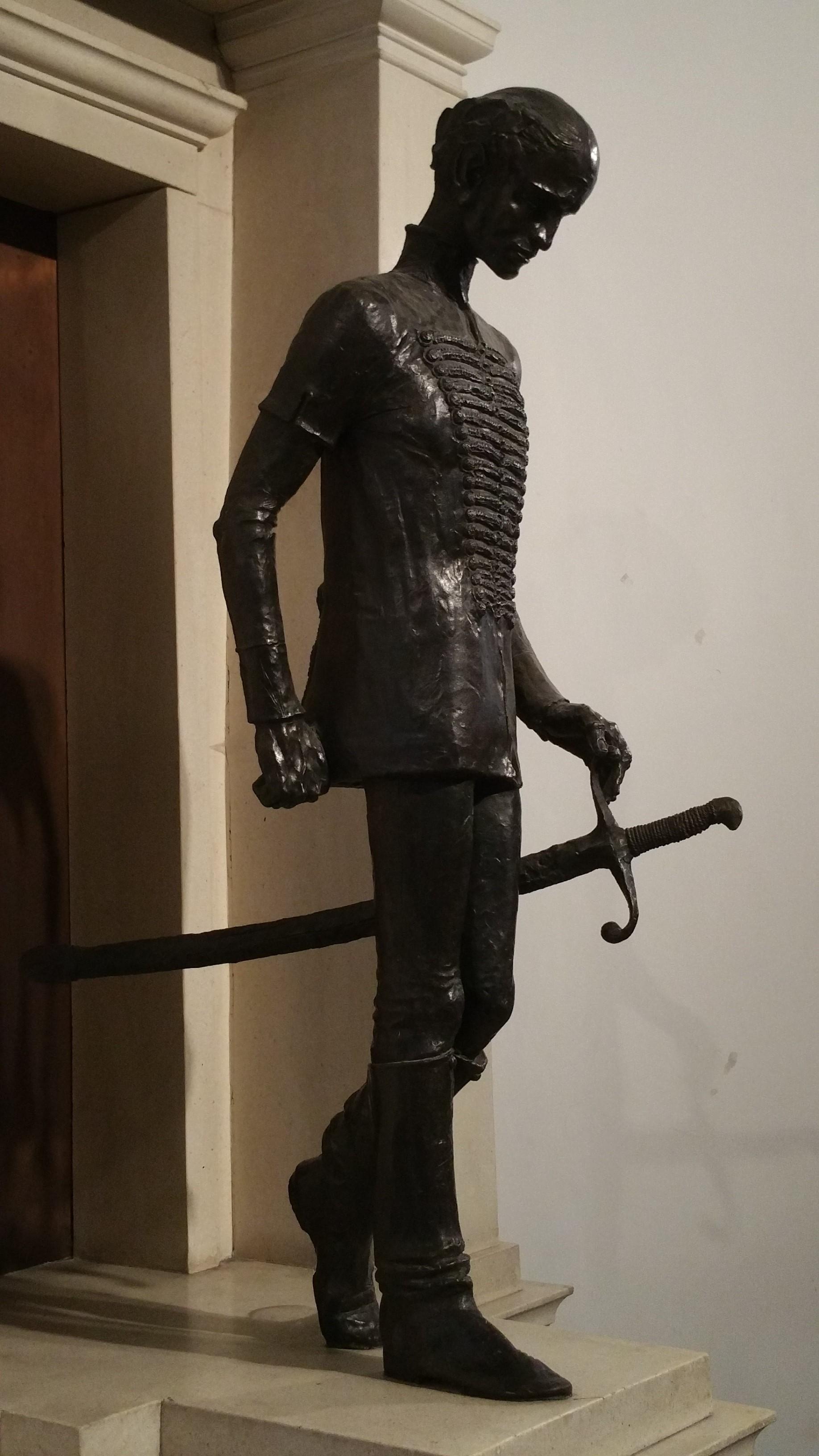 A szobor Budapesten
