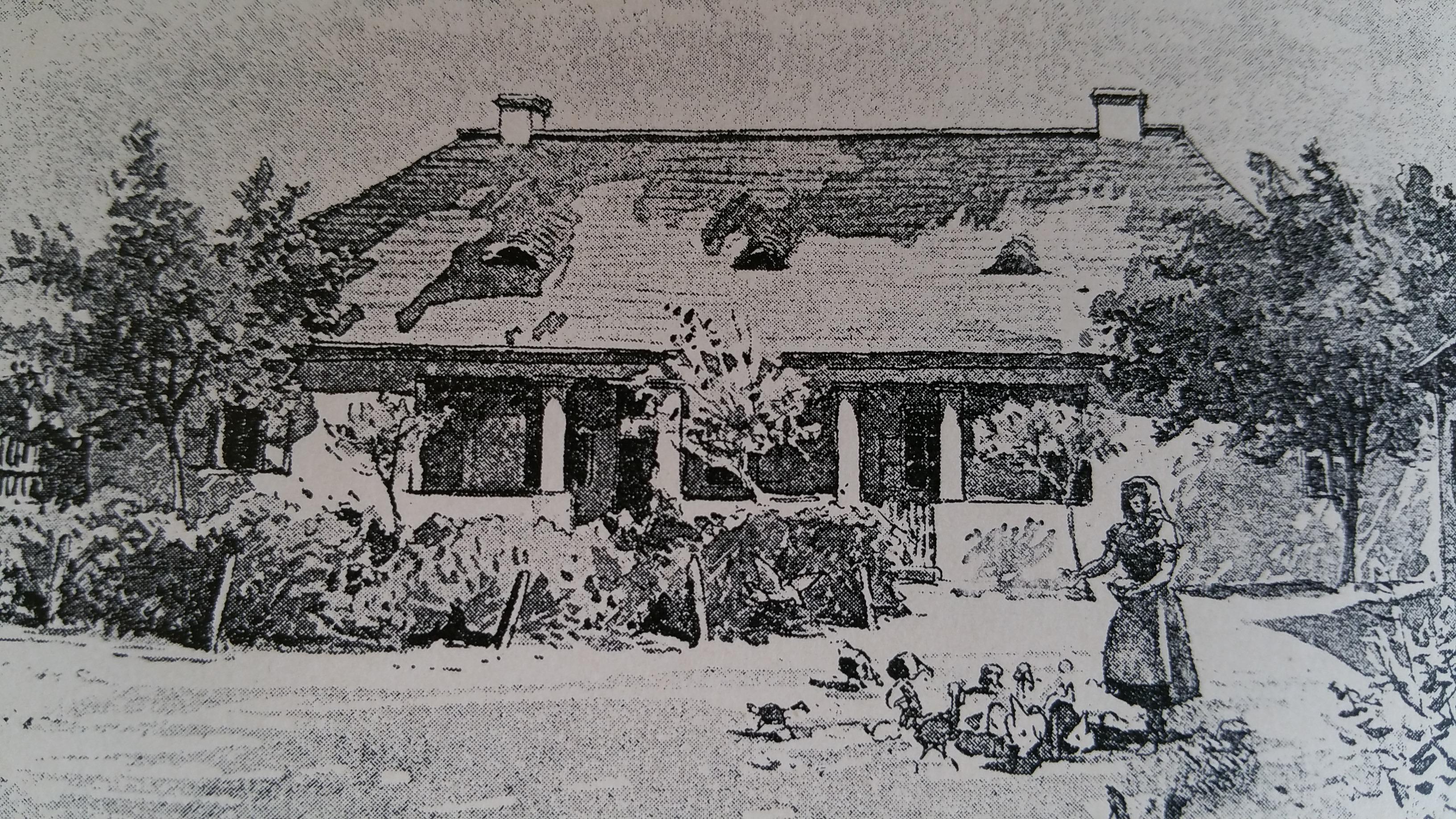 A szülőház egykor