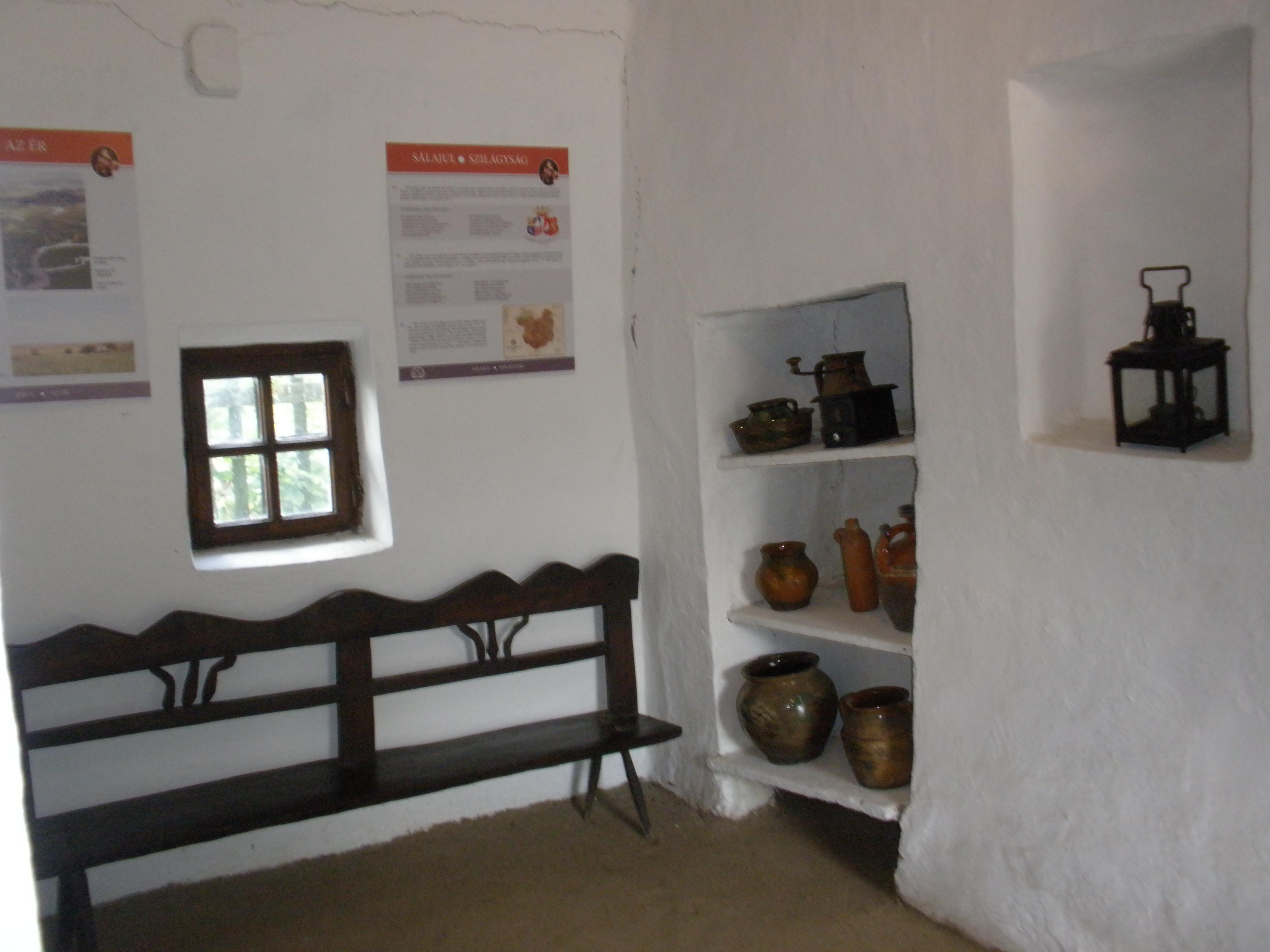 A régi konyha népies berendezése