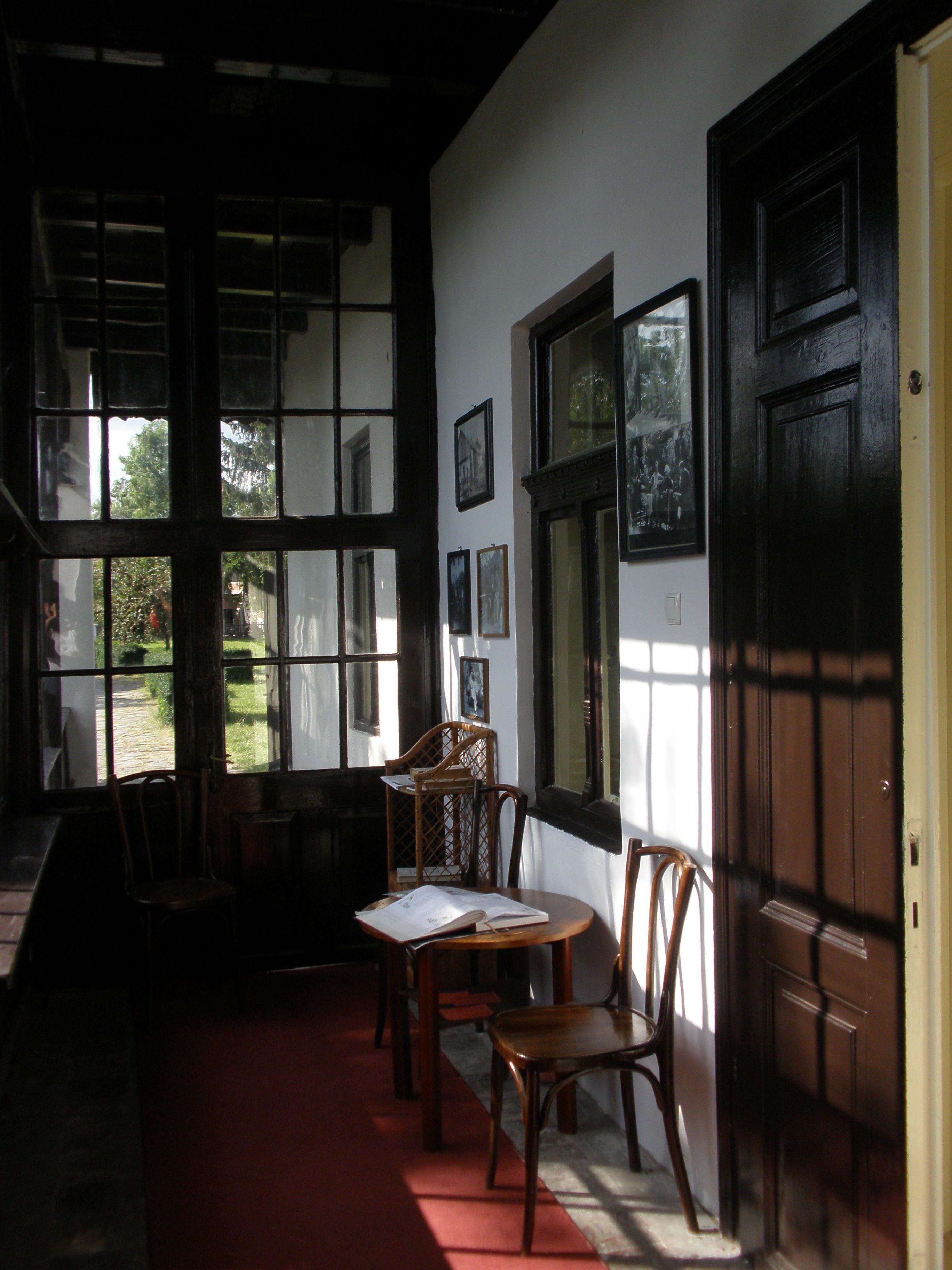 A veranda