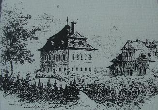 Jókai Mór rajza a Teleki-kastélyról