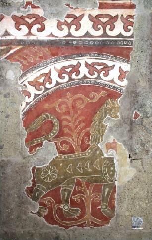 Az esztergomi freskórészlet