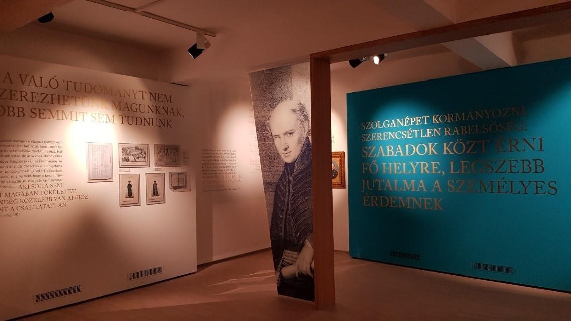 A kiállítás első terme