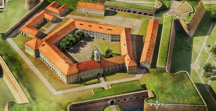 A jellegzetes alakú váradi vár