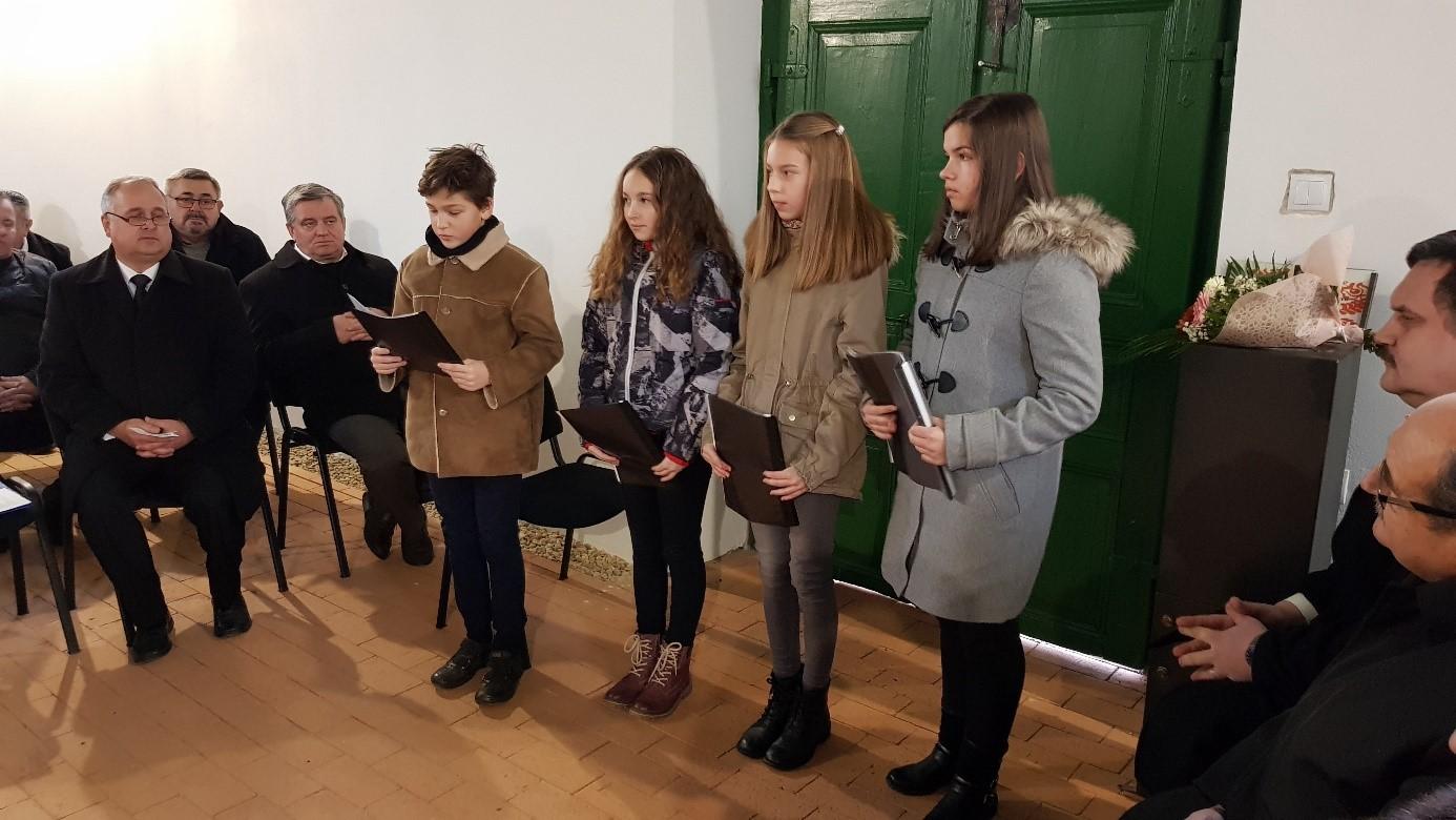 Pakulár István, Dohi Csenge, Hamza Fanni és Rácz Kitti