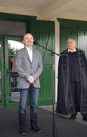 Nagy Ferenc a Kölcsey Ház Alapítvány kuratóriumának elnöke