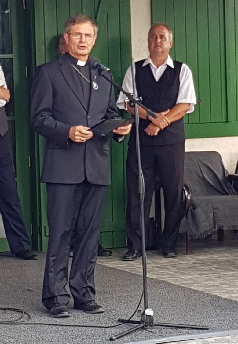 Ft. Schönberger Jenő, a Szatmári Római Katolikus Egyházmegye püspöke