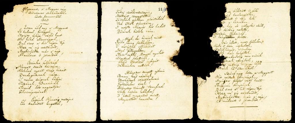 A Hymnus kézirata