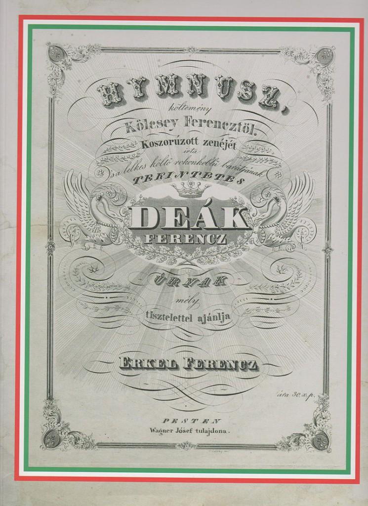 Himnusz Deák Ferencz úrnak ajánlva