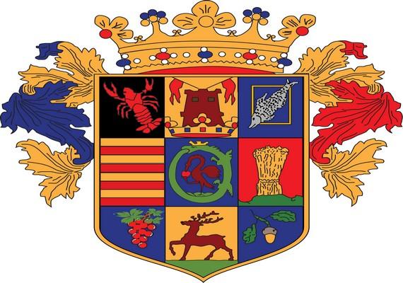 Szatmár vármegye régi címere
