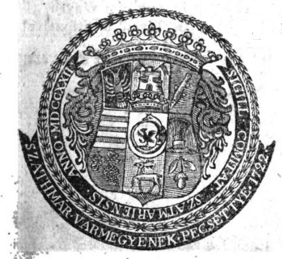 Szatmár vármegye pecsétje