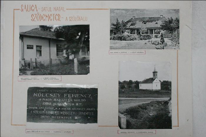 Szülőház tablón