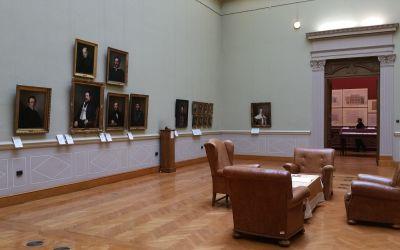 Budapest, V. Széchenyi István tér 9., Magyar Tudományos Akadémia, Művészeti Gyűjtemény (Anton Einsle, 1835, olajfestmény, vászon, 65×52,5 cm)