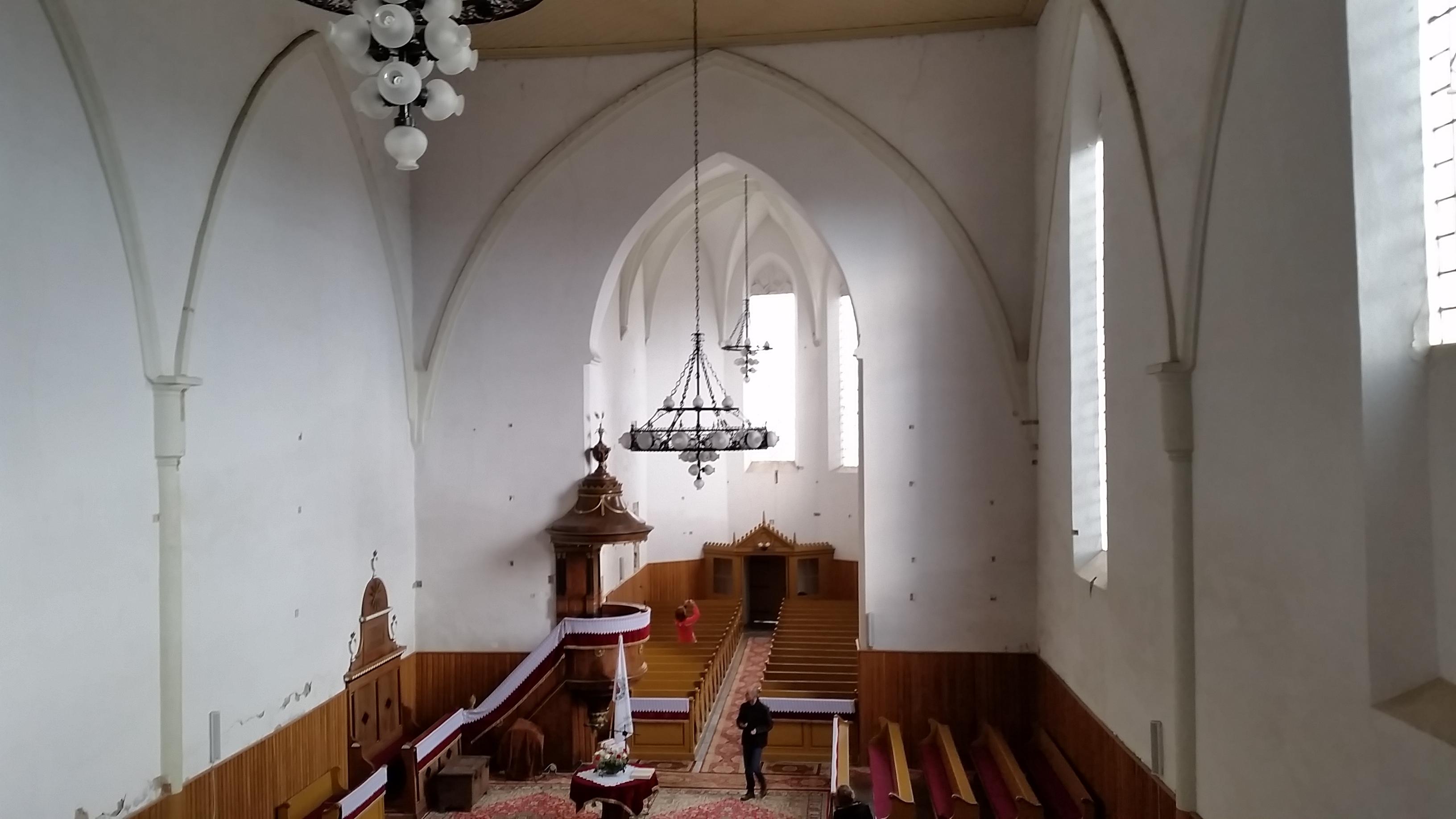 Templombelső