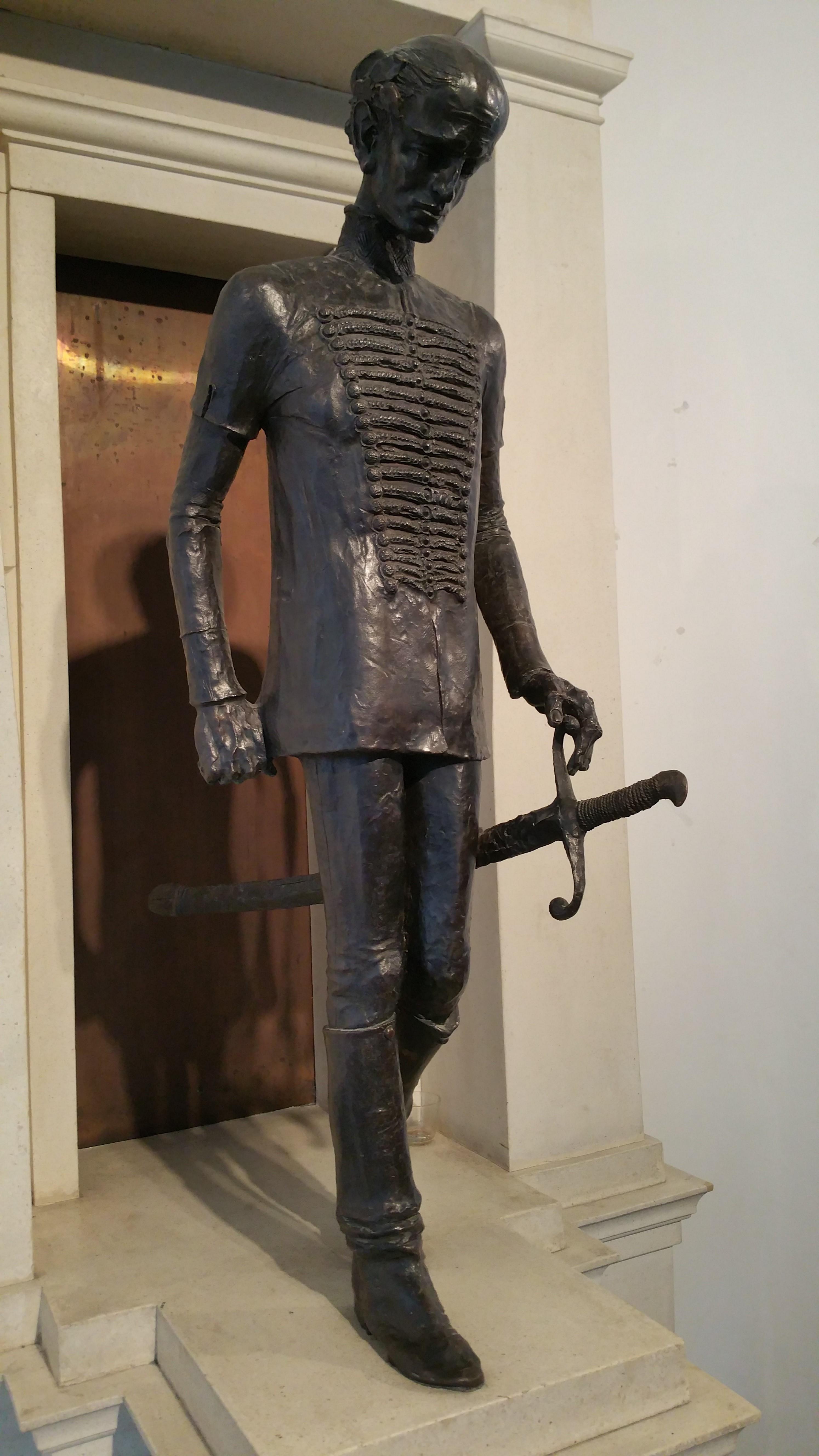 Kölcsey a karddal és a bronztükörrel