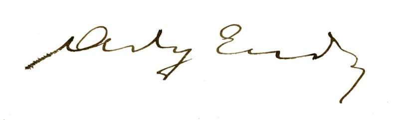 Ady Endre aláírása