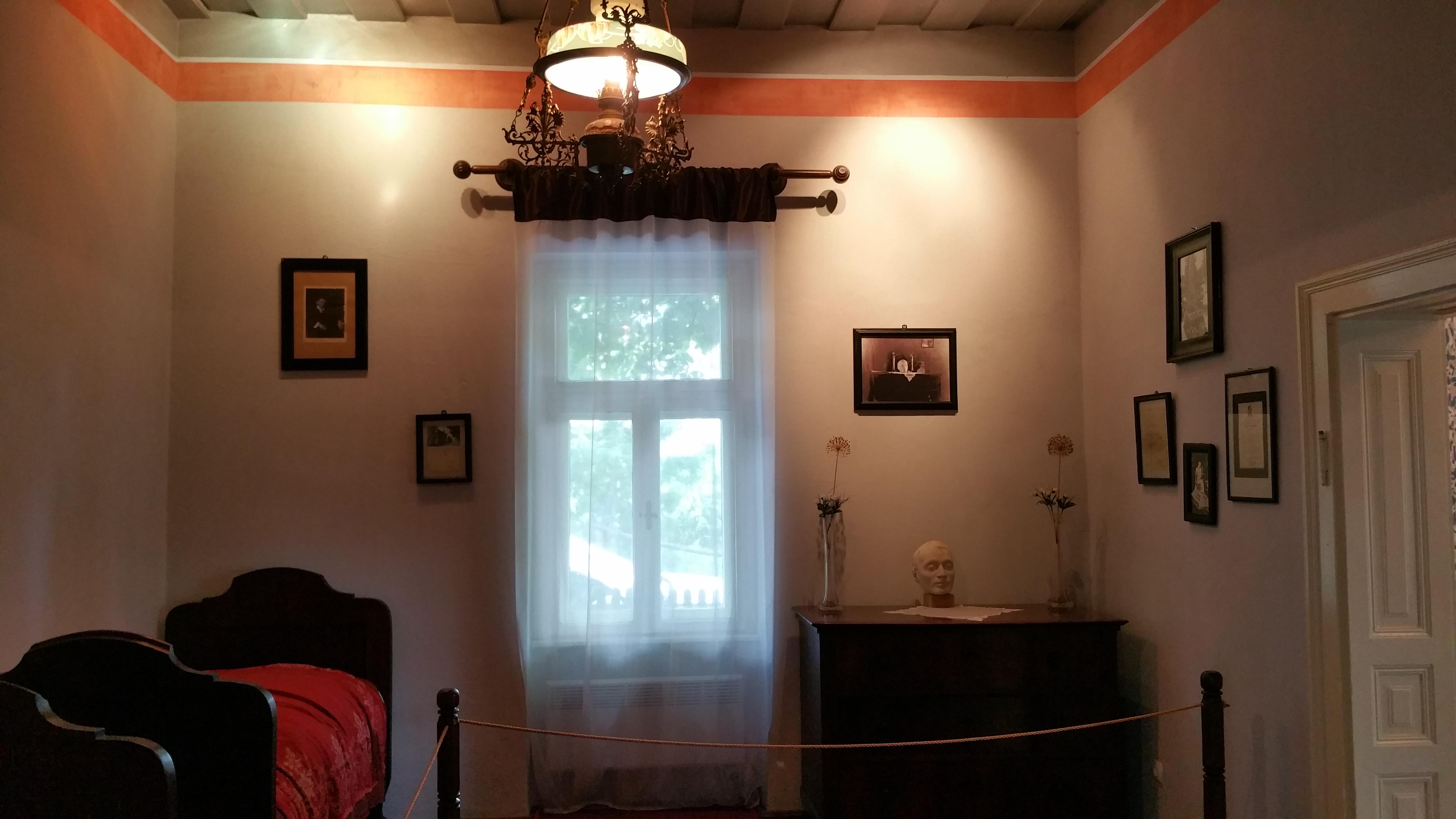Ady Lajos egykori szobája