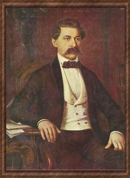 Barabás Miklós - Arany János portréja (1864)
