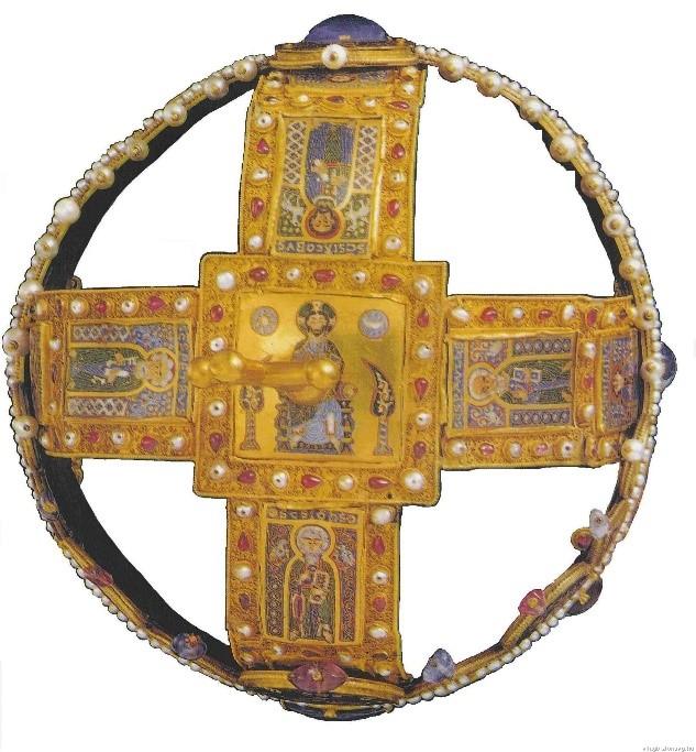 A Szent Korona felülnézetben