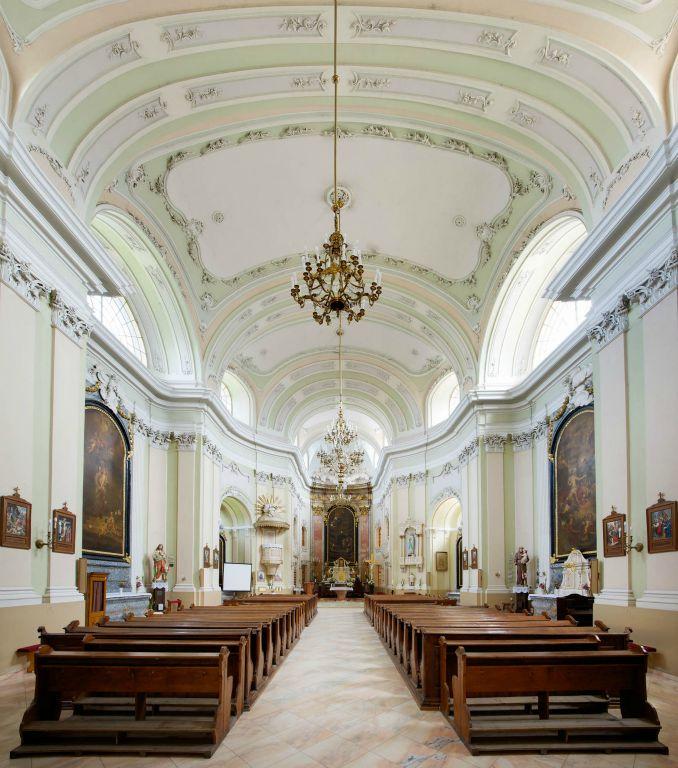 A felújított katolikus templom