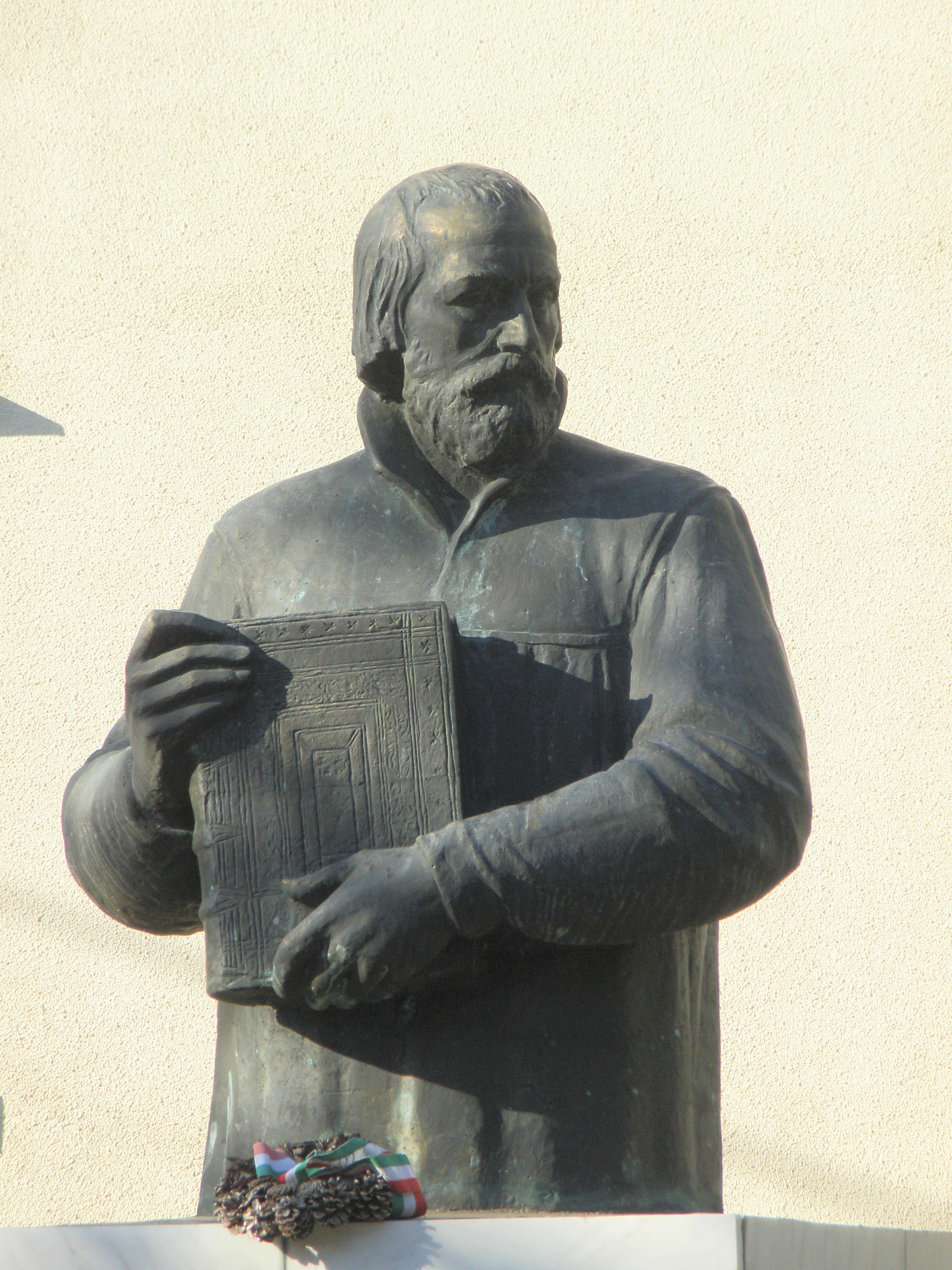 Károli Gáspár a magyar nyelvű Bibliával