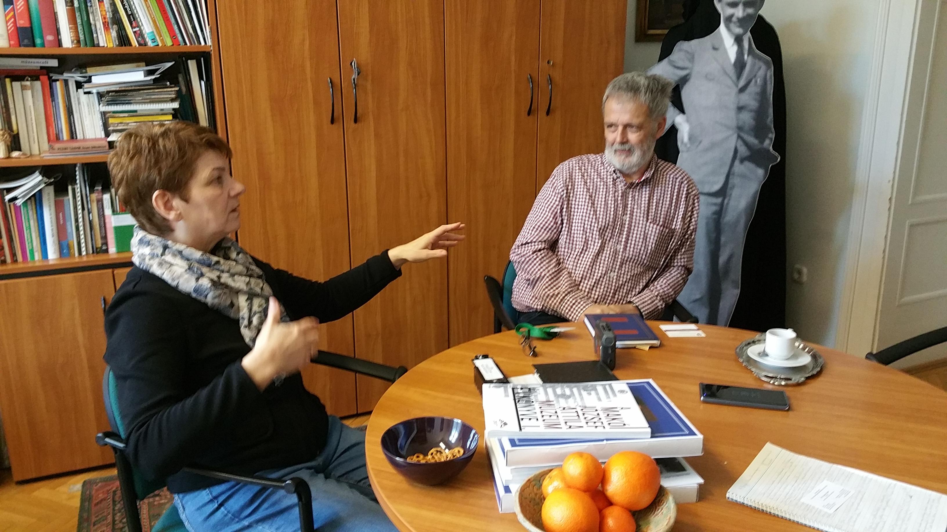 H. Bagó Ilona és dr. Gyapay László