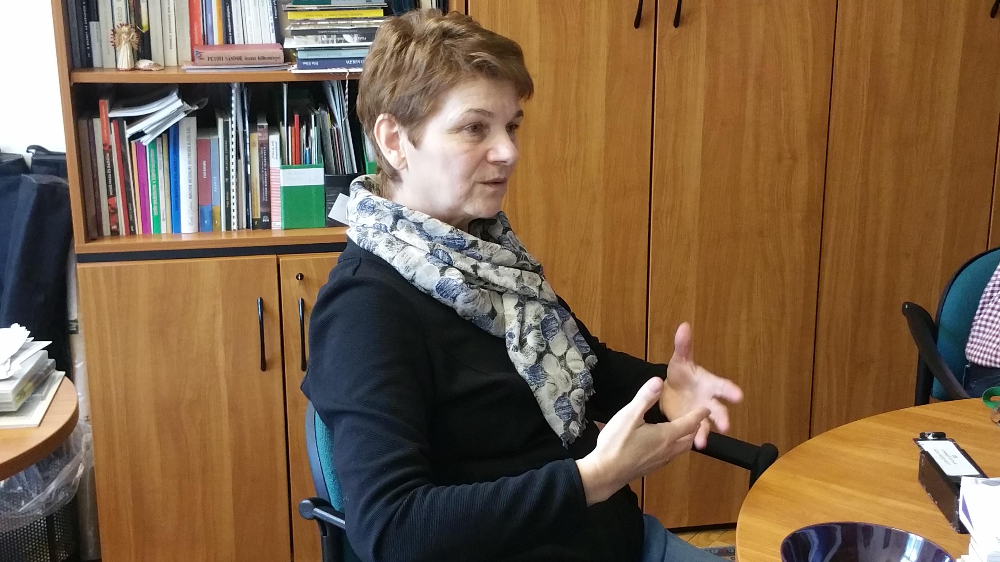 H. Bagó Ilona főmuzeológus, főosztályvezető