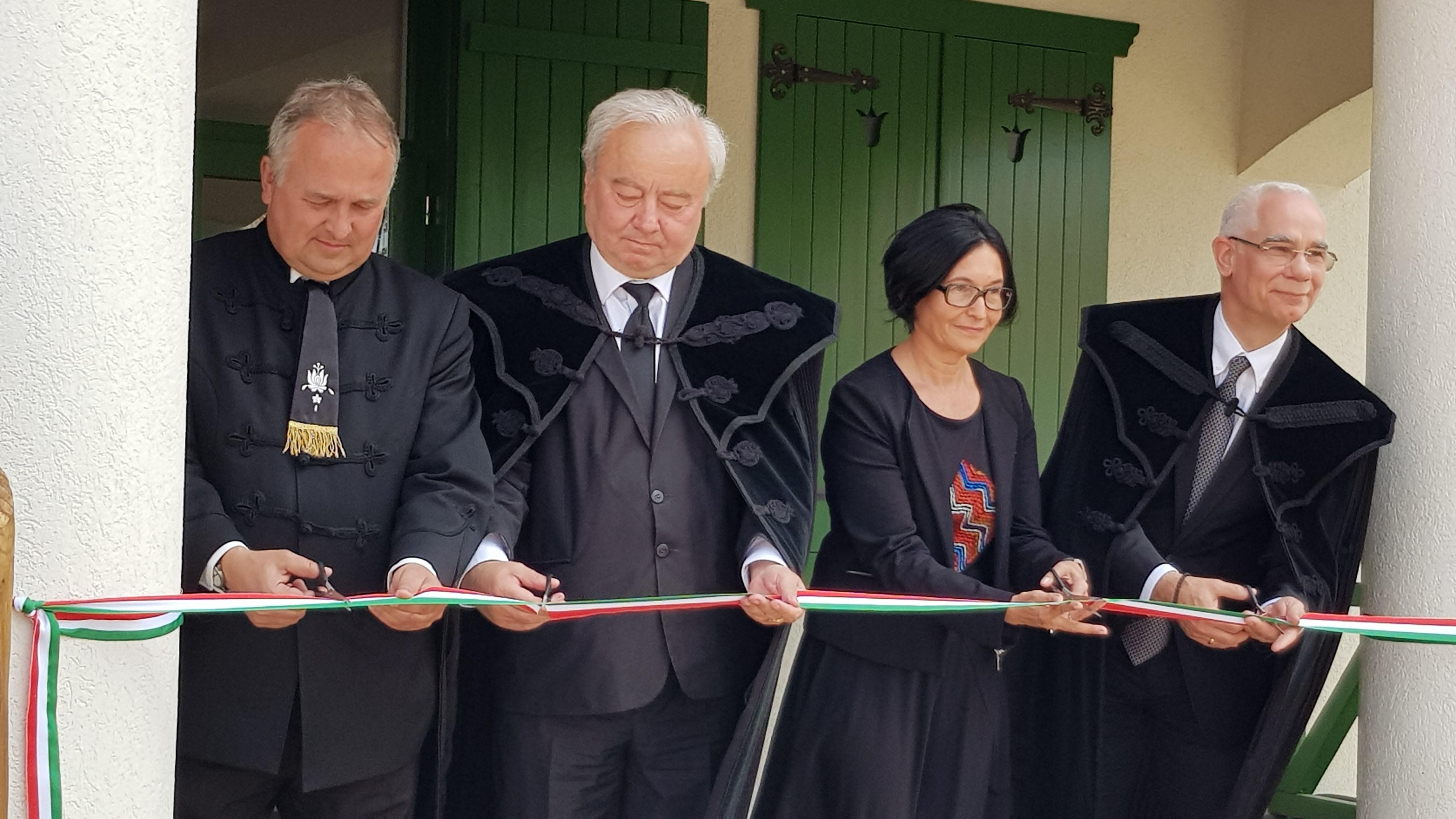 Pakulár István, ft. Csűry István, Brendus Réka és nt. Balog Zoltán