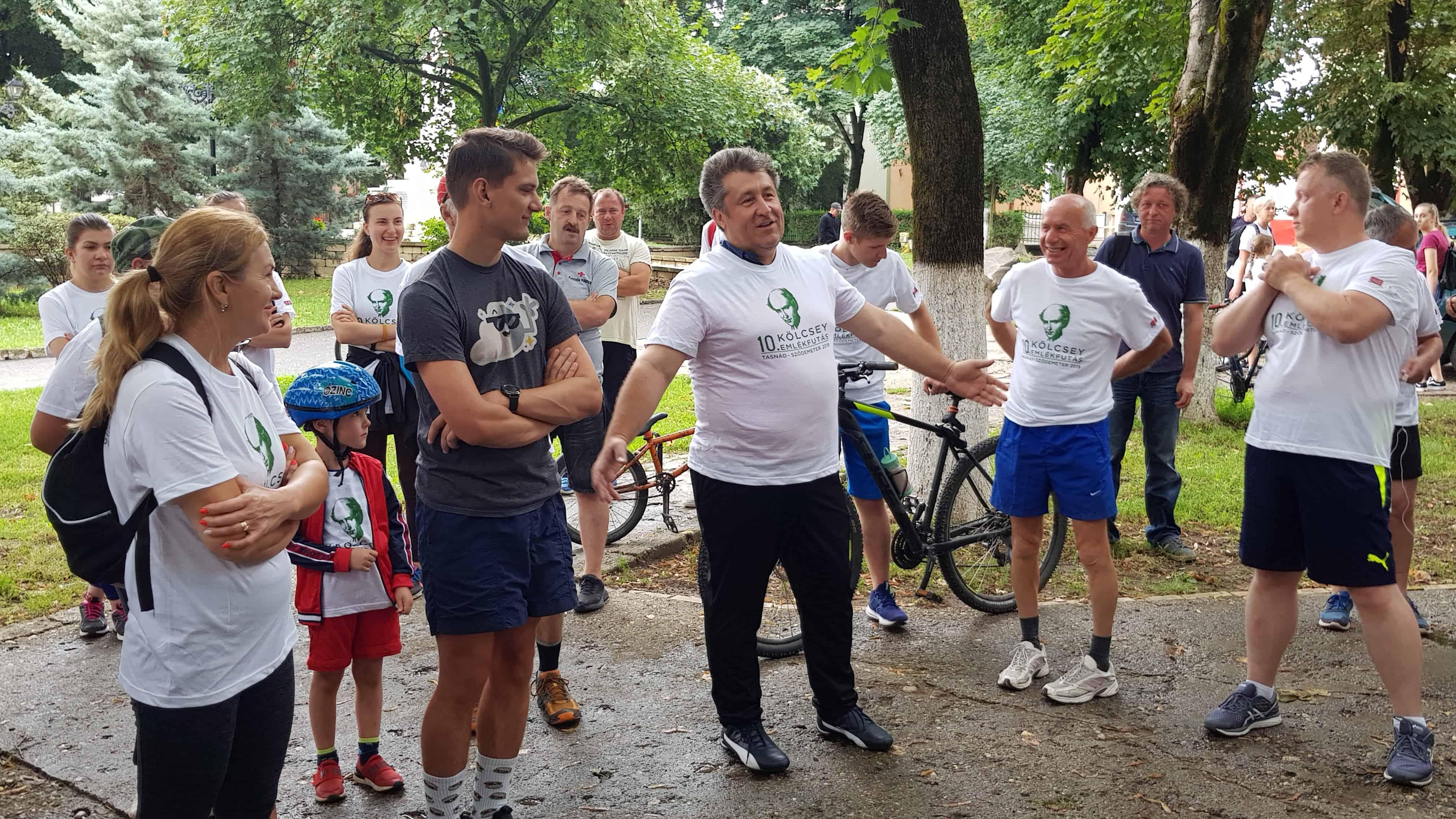 A tasnádi polgármester is a résztvevők között volt