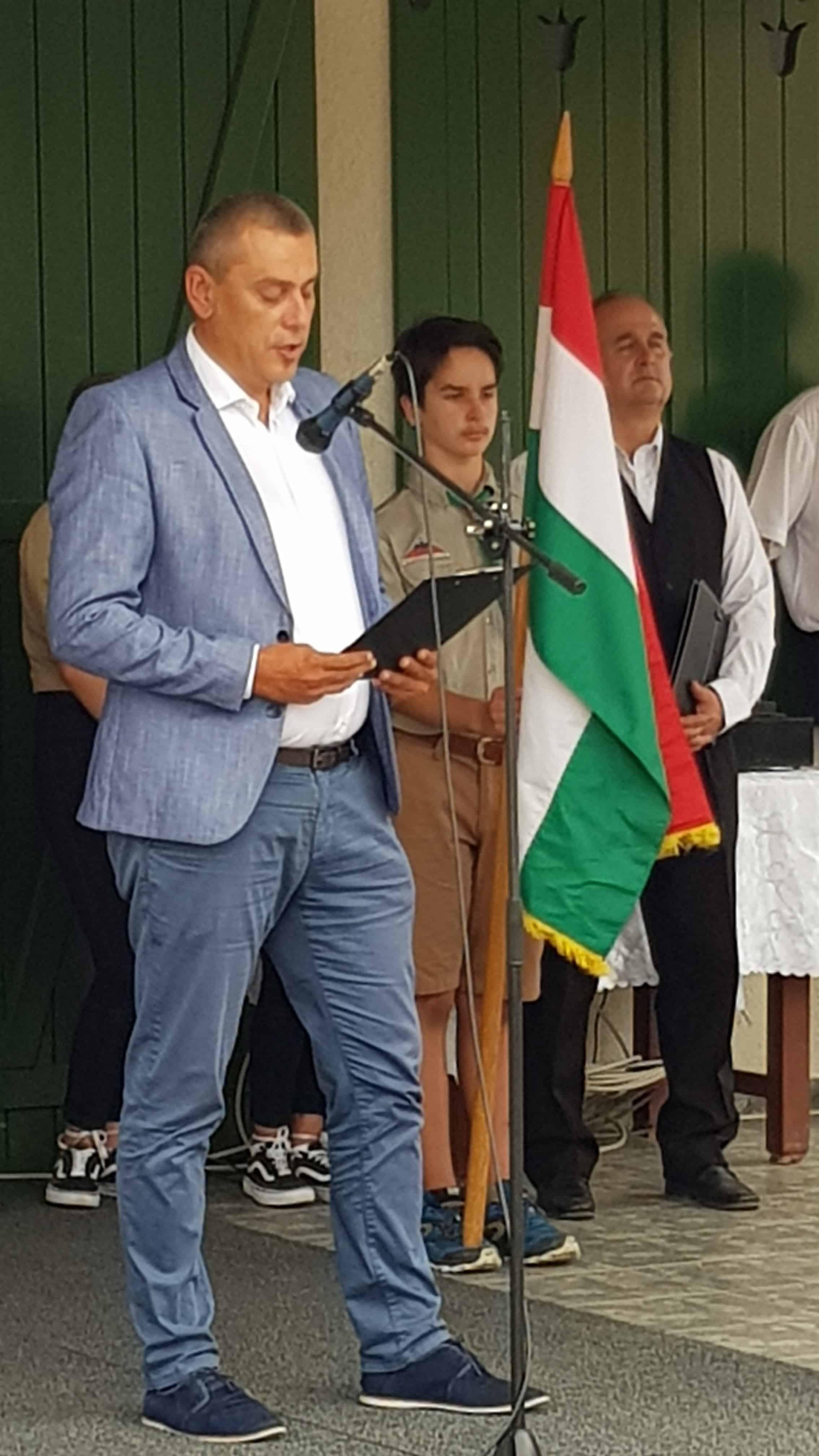 Magyar Loránd Bálint parlamenti képviselő